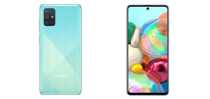 Новые народные смартфоны SamsungGalaxy A51 иA71
