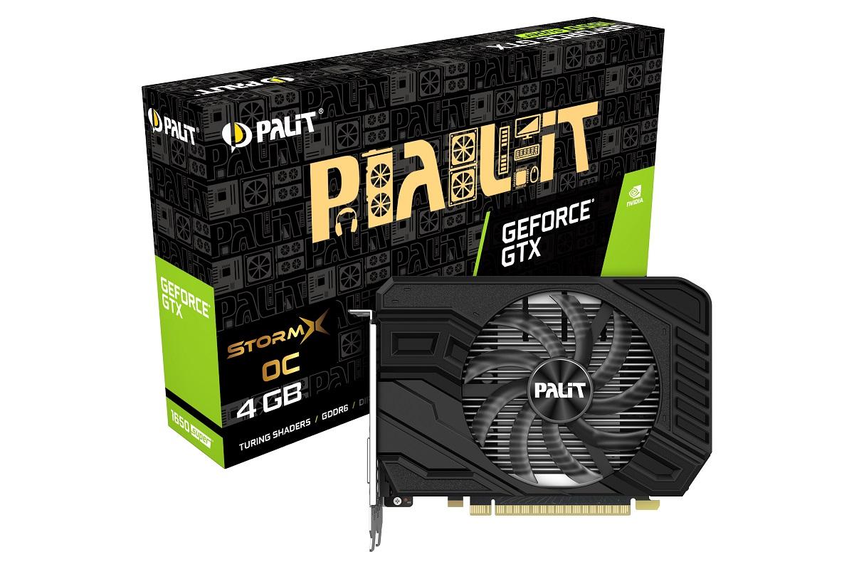 Новые видеокарты PALIT GeForce GTX 1650 SUPER появились вмагазинах