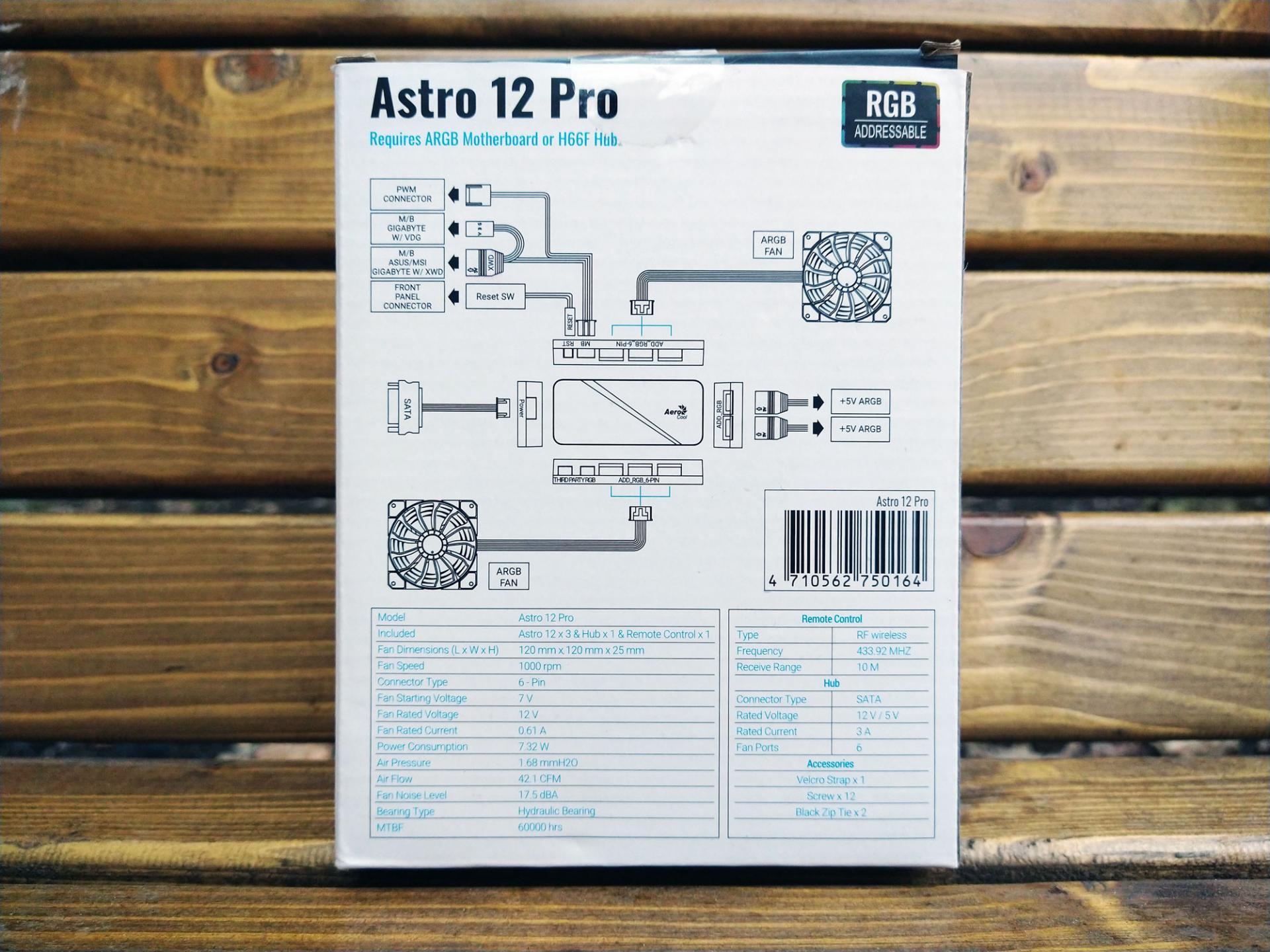 Обзор системы охлаждения для корпуса AeroCoolAstro 12 Pro