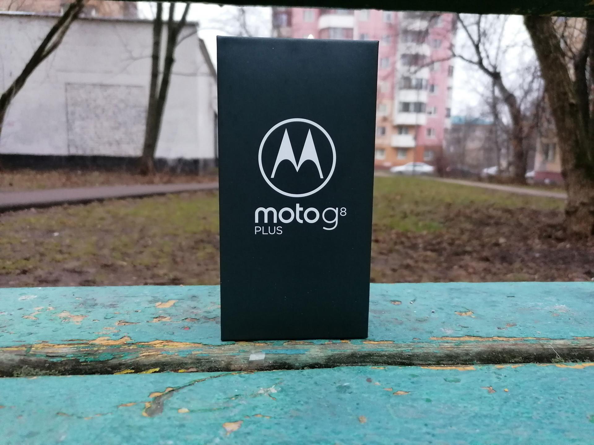 Обзор смартфона Motorola Moto G8 Plus