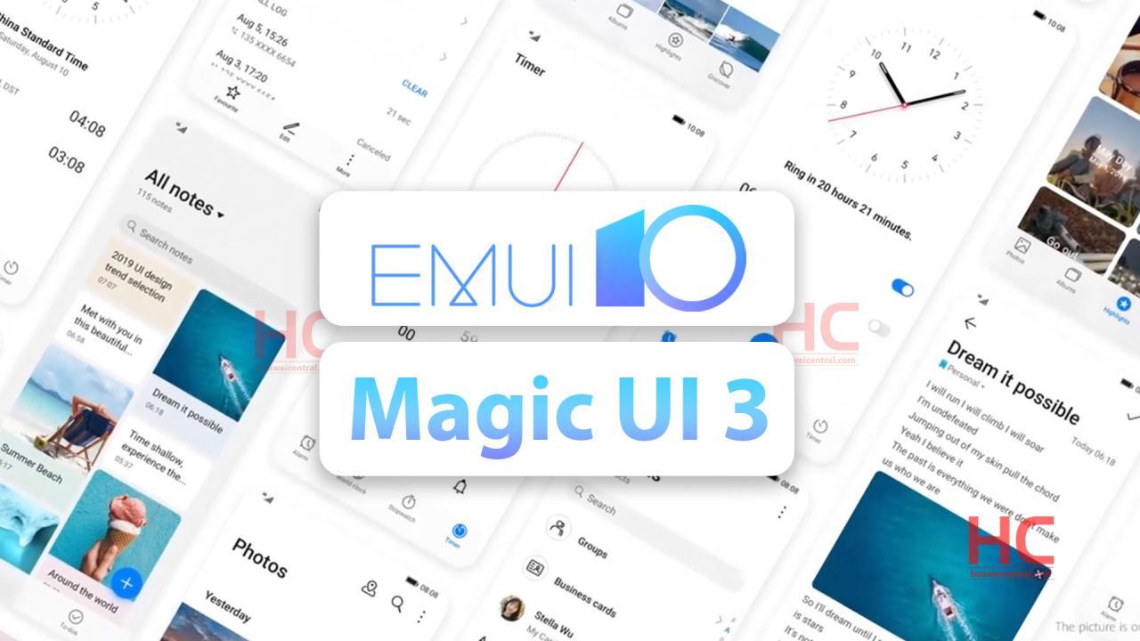 Список изменений EMUI 10 иMagi UI3.0 иизвестные проблемы