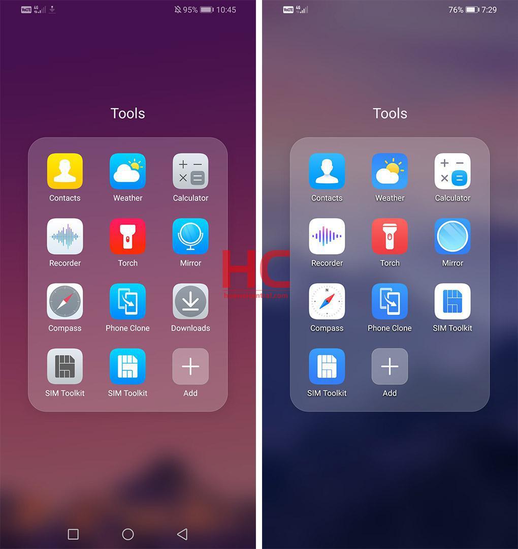 Сравниваем новый интерфейс EMUI 10 иEMUI 9.1. Huawei удалось хорошо?