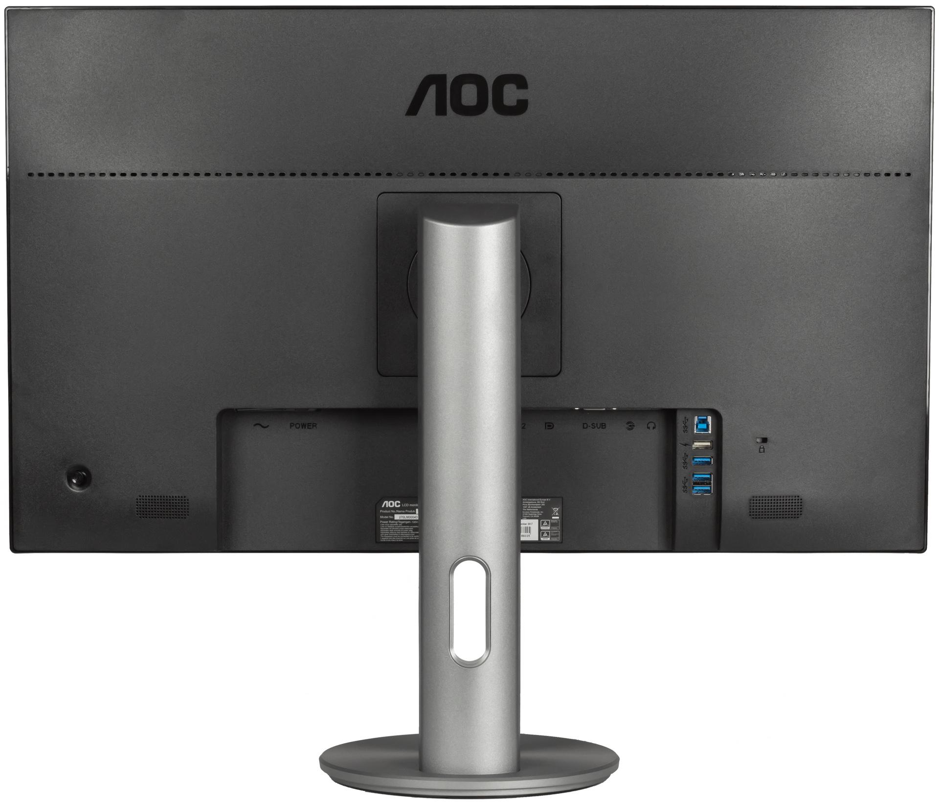 Рабочая лошадка: тестируем 27-дюймовый монитор AOC Q2790PQU сразрешением WQHD