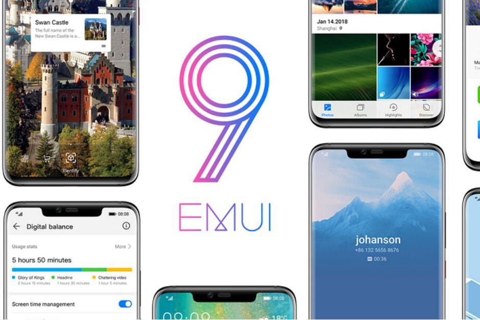 Huawei P10 иHonor 9 начали получать EMUI 9.0.1