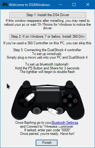 Как подключить контроллер отPS4 кPC?