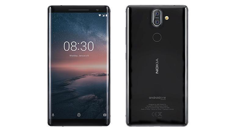 Nokia 8 Sirocco начал получать обновление доAndroid Pie