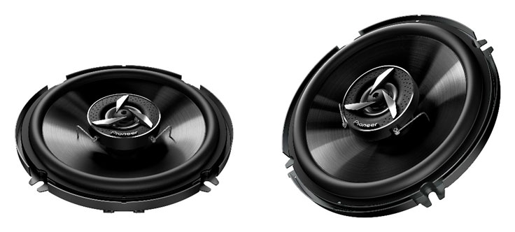 Pioneer показалаИндийские акустические системы TS-650C иTS-6520Fдля авто