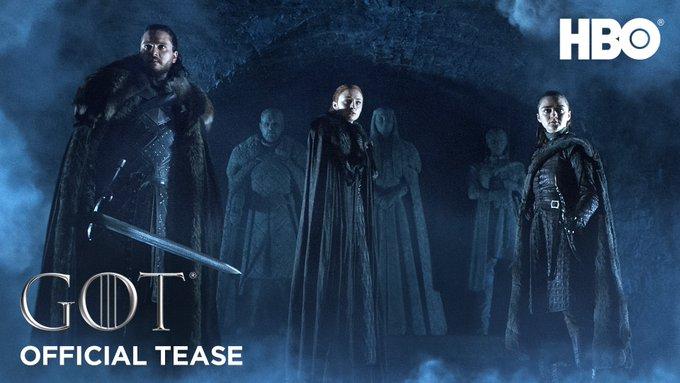 Раскрыта дата выхода последней части сериала Игры престолов