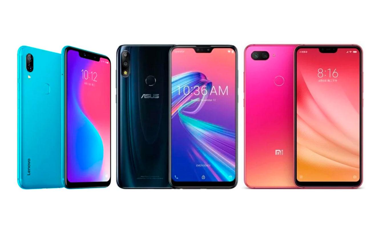 Сравним смартфоны: Lenovo S5 Pro GT, Zenfone Max Pro (M2), Xiaomi Mi8 Lite