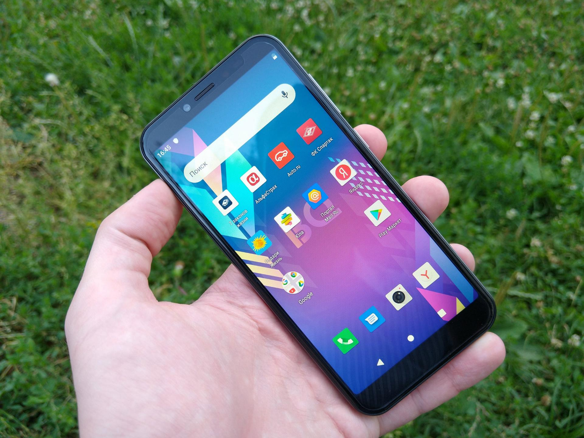 Обзор смартфона BQ5528L Strike Forward
