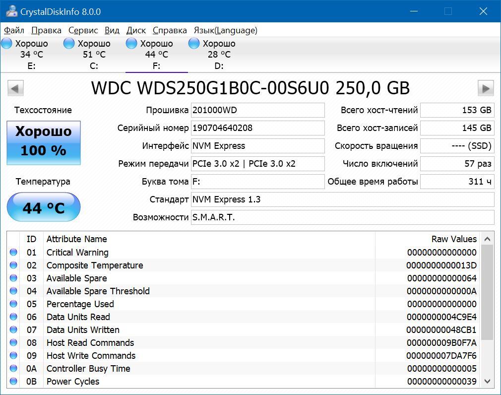 Обзор твердотельного накопителя Western Digital Blue SN500 NVMe