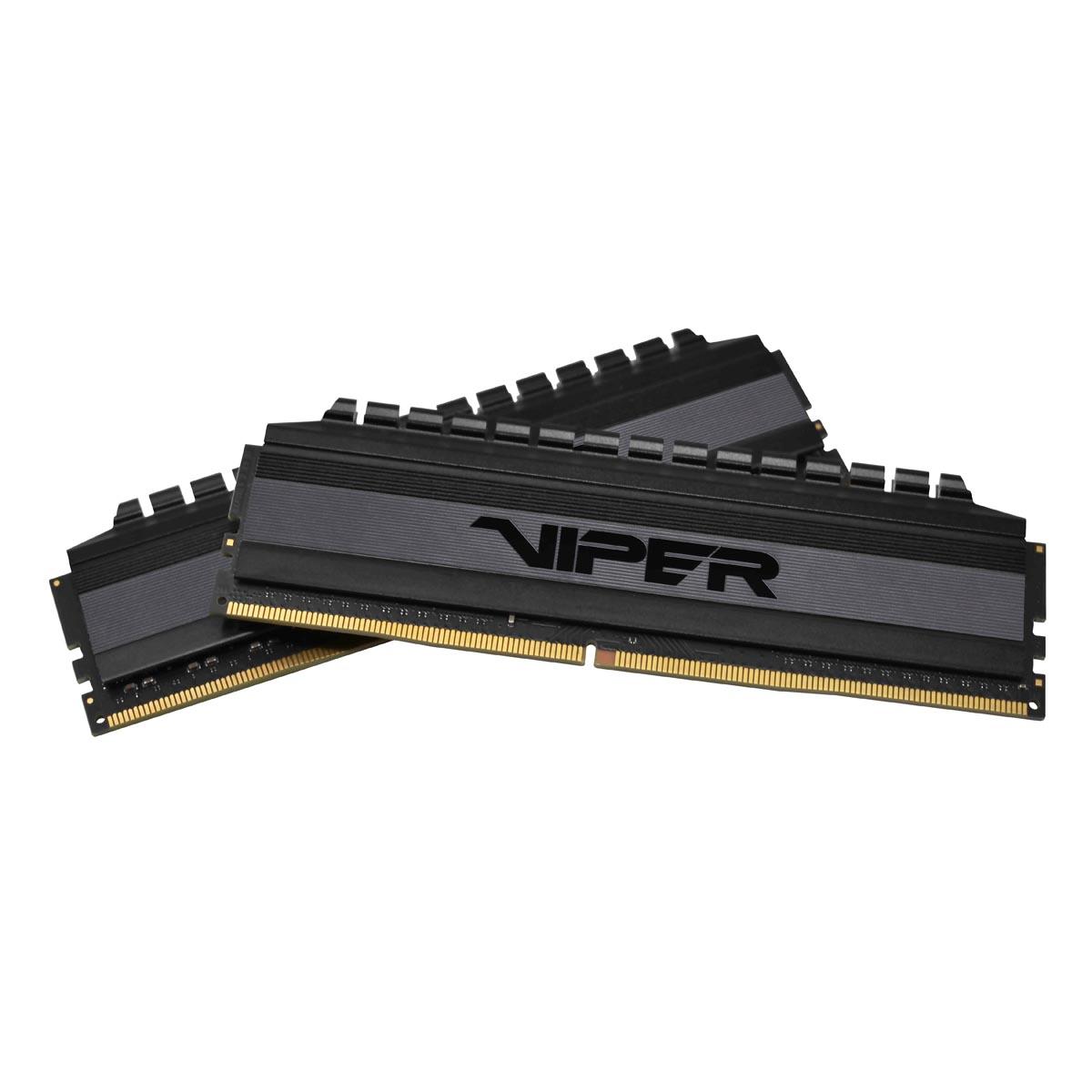 Patriot Memory предлагает обновлённую оперативную память DDR4 линейки Viper 4