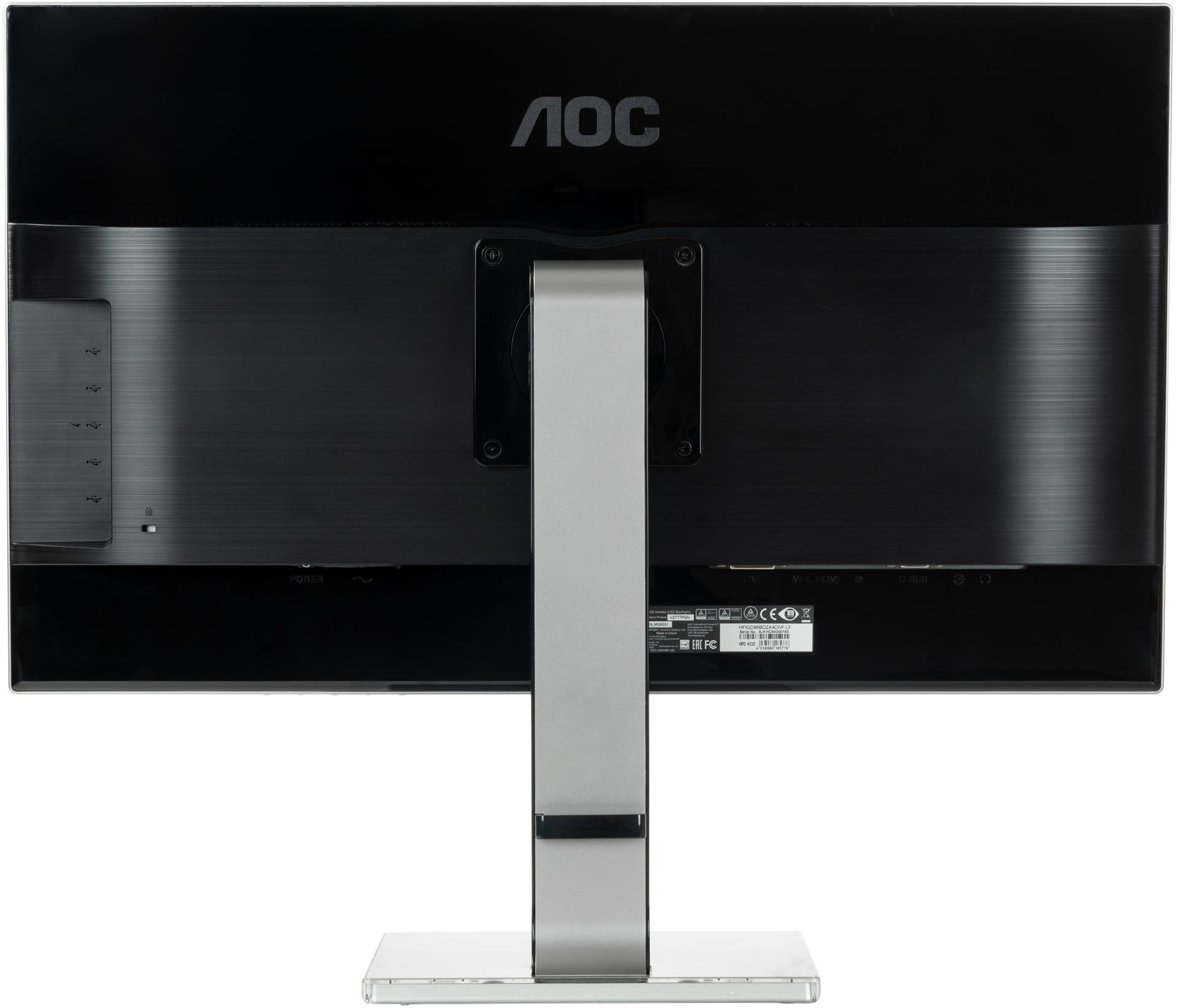 По-настоящему народный: обзор недорогого 27-дюймового 4К-монитора AOC U2777PQU