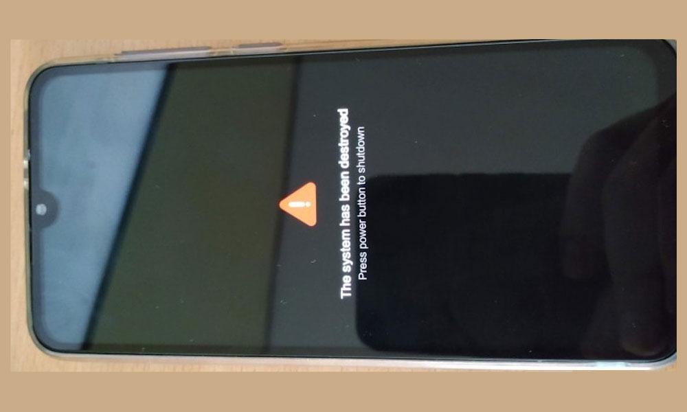 Система уничтожена — последствия очередного обновления Xiaomi