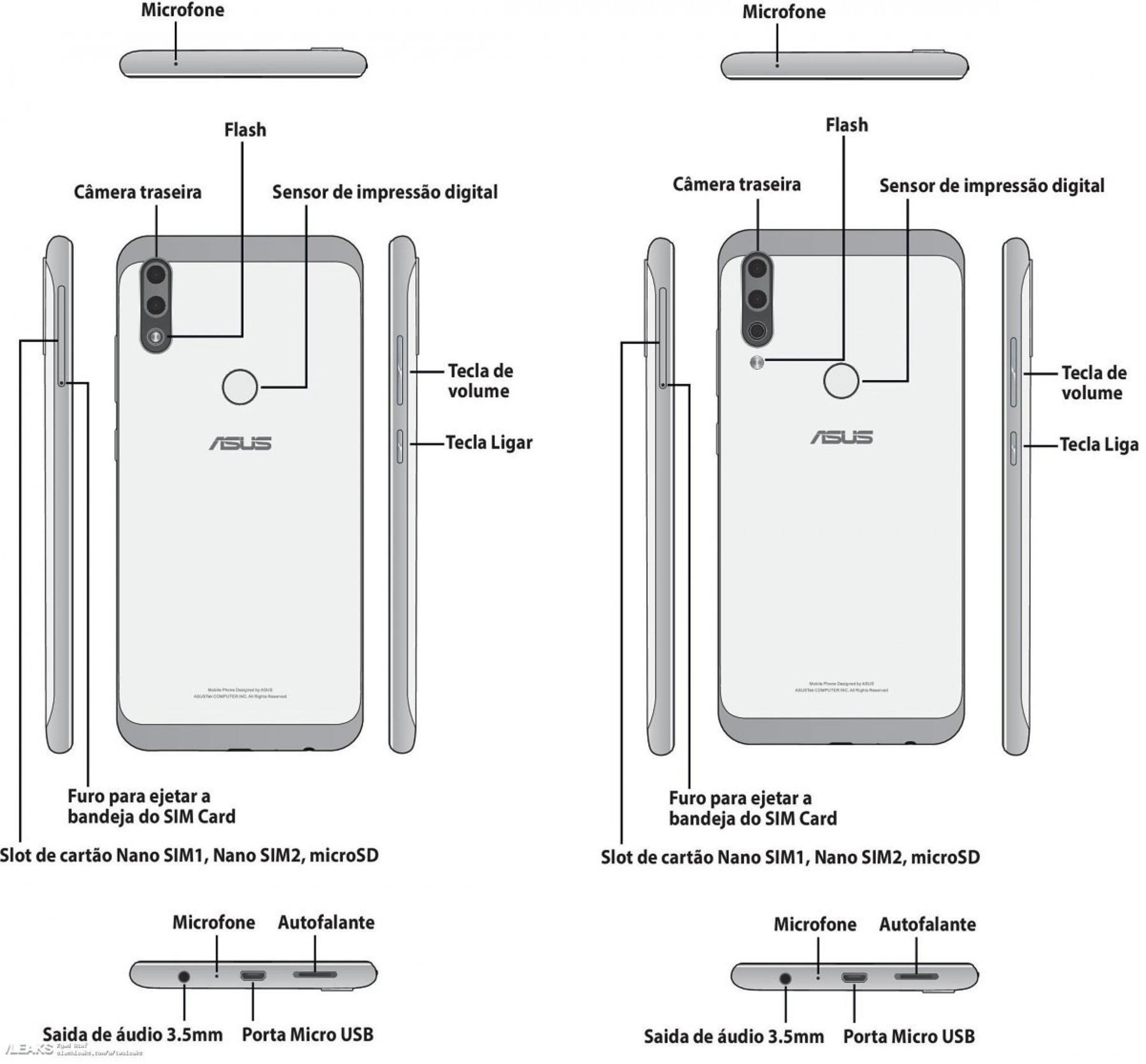Asus готовит пару интригующих смартфонов: Zenfone Max Plus M2 иZenfone Max Shot
