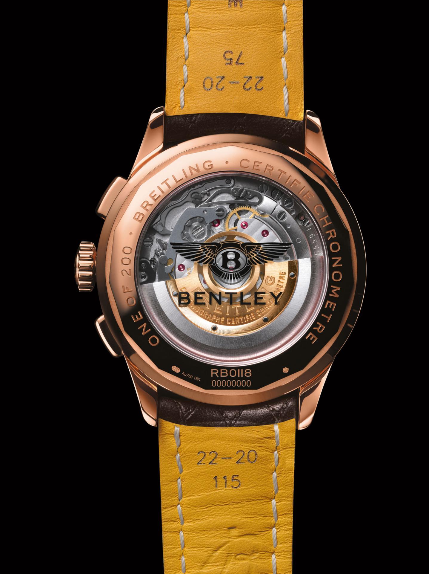 Breitling выпускаетлимитированную серию часовPremier Bentley Centenary