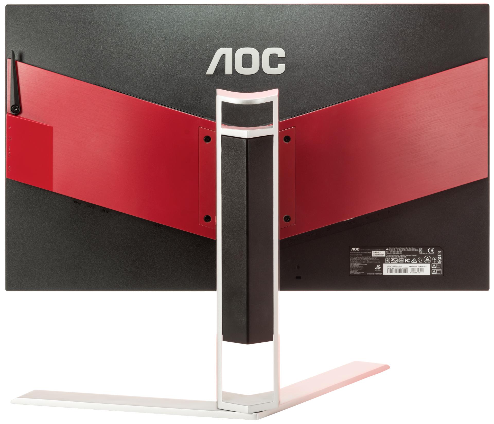 Для виртуальных баталий: обзор игрового монитора AOC AG271QX