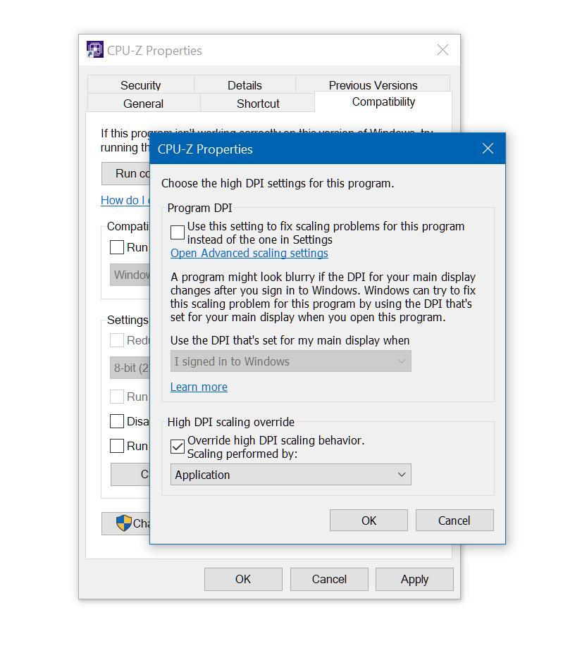 Как бороться смутным изображением вWindows 10 при масштабировании