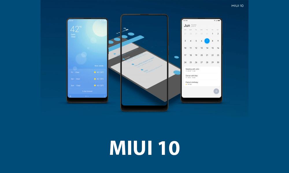 Xiaomi планирует значительно обновить MIUI 10