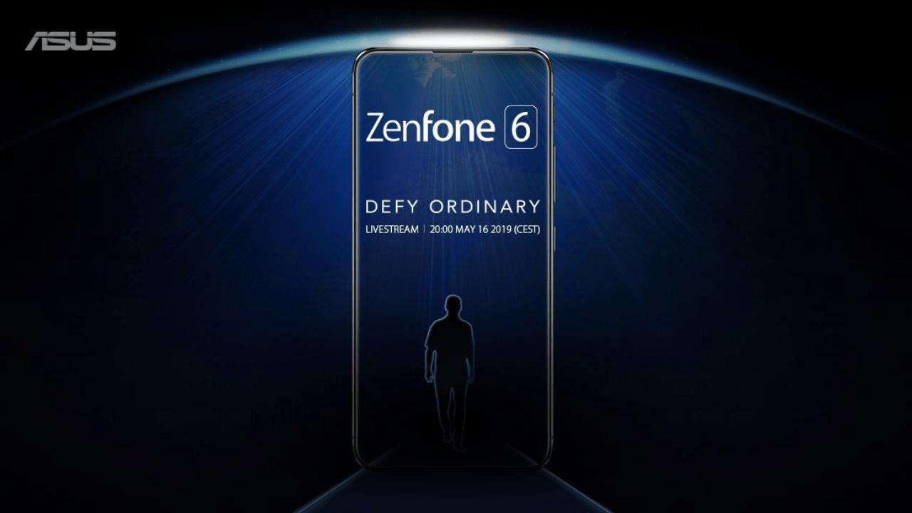 Asus дразнит будущим Zenfone 6 без чёлки,прорезей ирамок