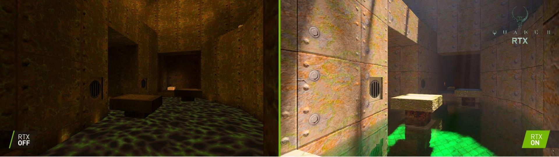 NVIDIA обновляет Quake II: даст скачать бесплатно игру страссировкой лучей