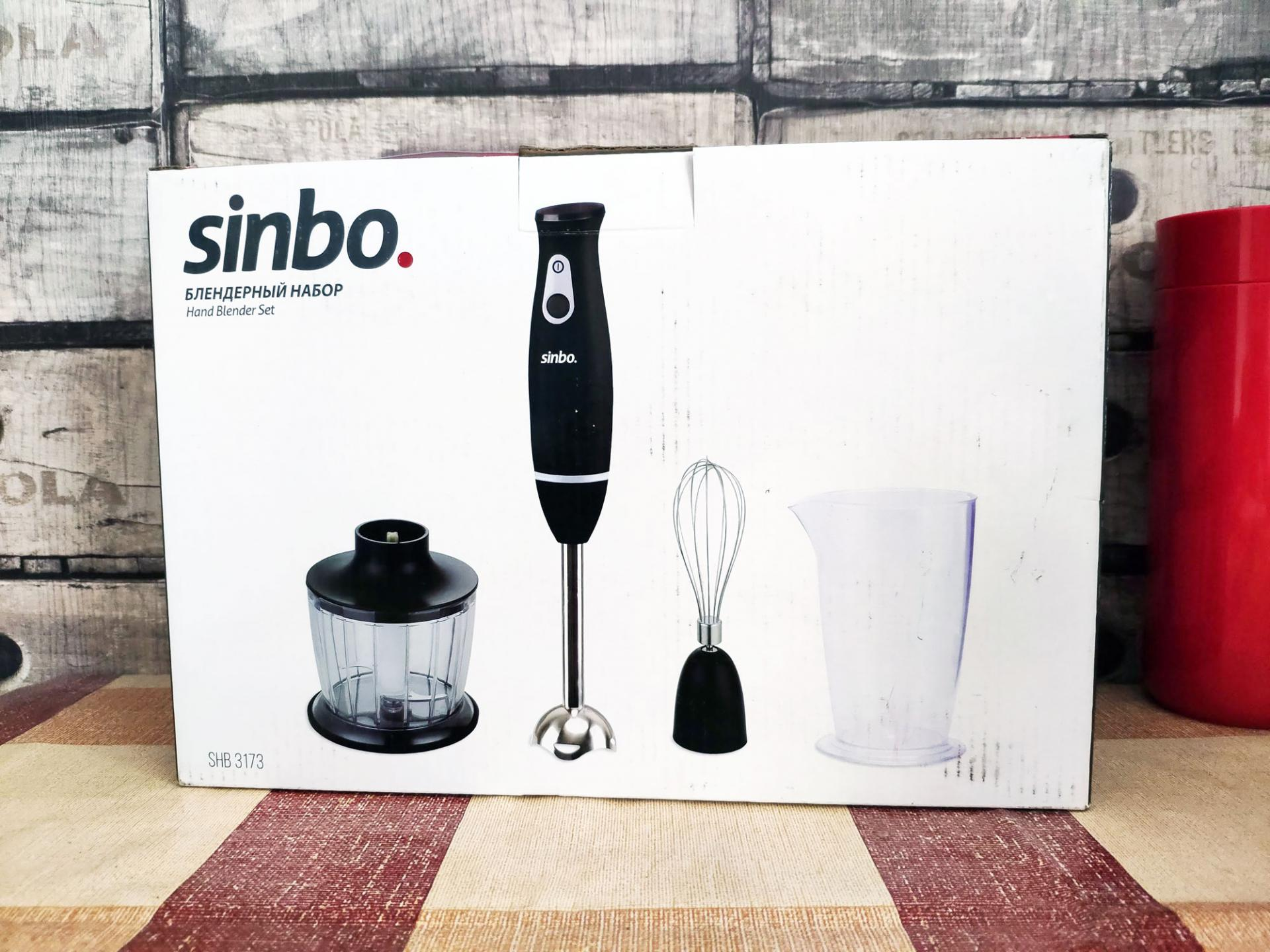Онпоможет разнообразить меню – обзор блендера Sinbo SHB 3173