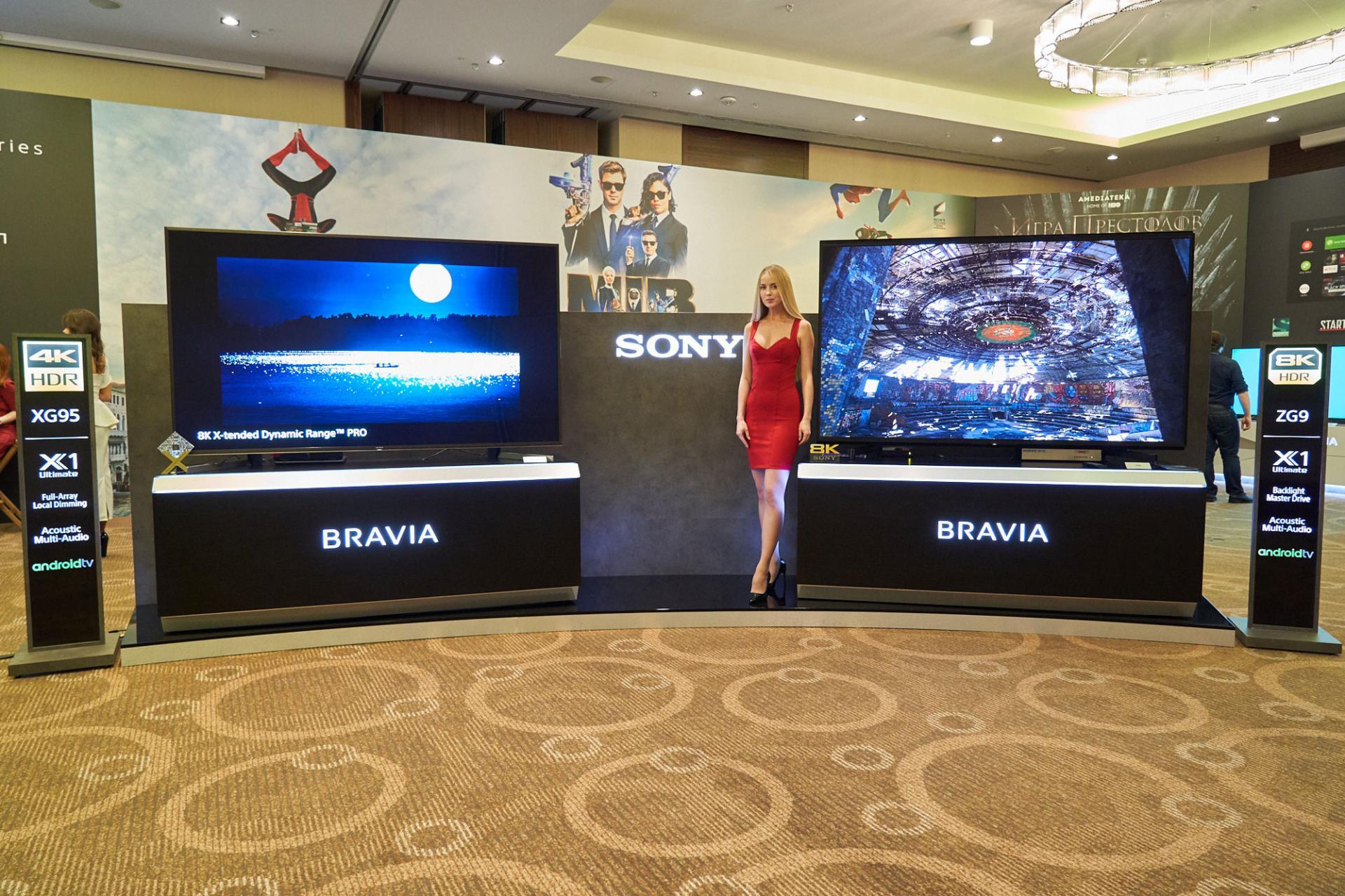Sony обновила линейку телевизоровBravia ипоказала 8K модель