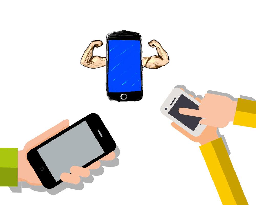 ТОП-10: самые скоростные смартфоны апреля
