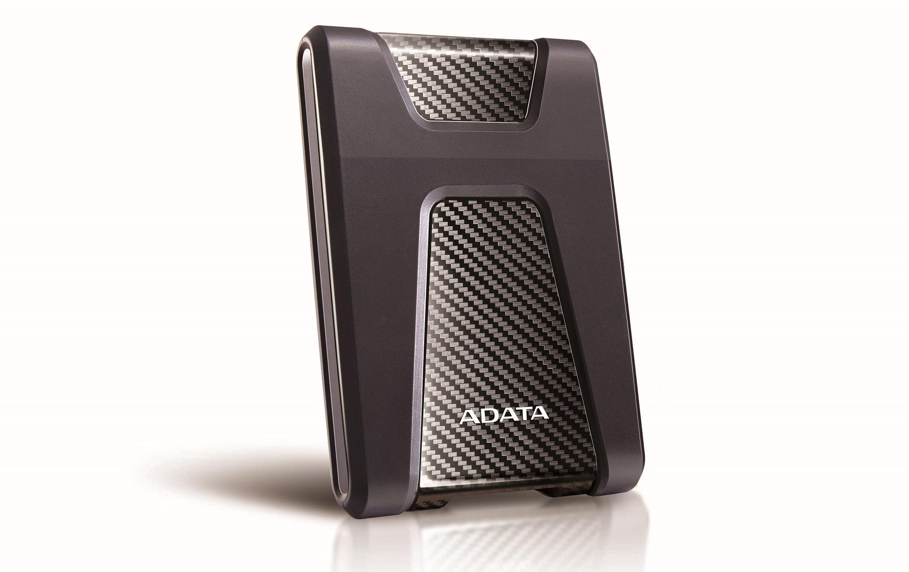 ADATA запускает портативные жёсткие диски сподсветкой изащитой поармейским стандартам