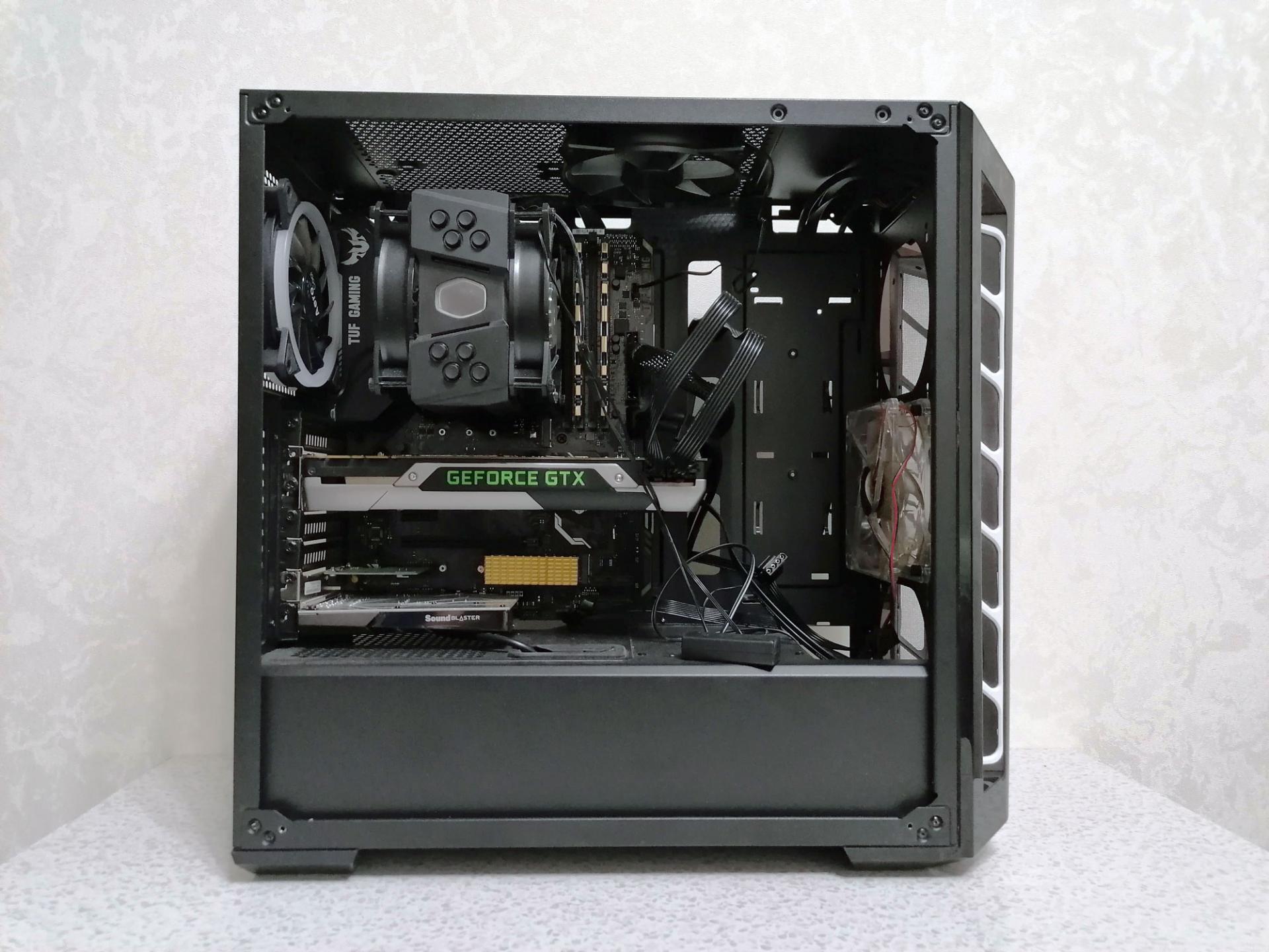 Обзор компьютерного корпуса Cooler Master MasterBox MB520 (MCB-B520-KANN-S02)