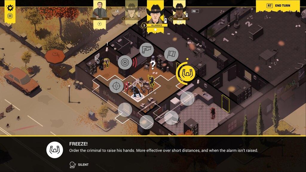 Обзор пошаговой стратегии Rebel Cops