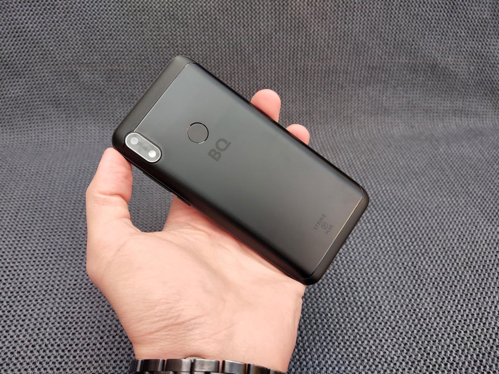 Обзор смартфона BQStrike Power Plus (BQ-5535L)