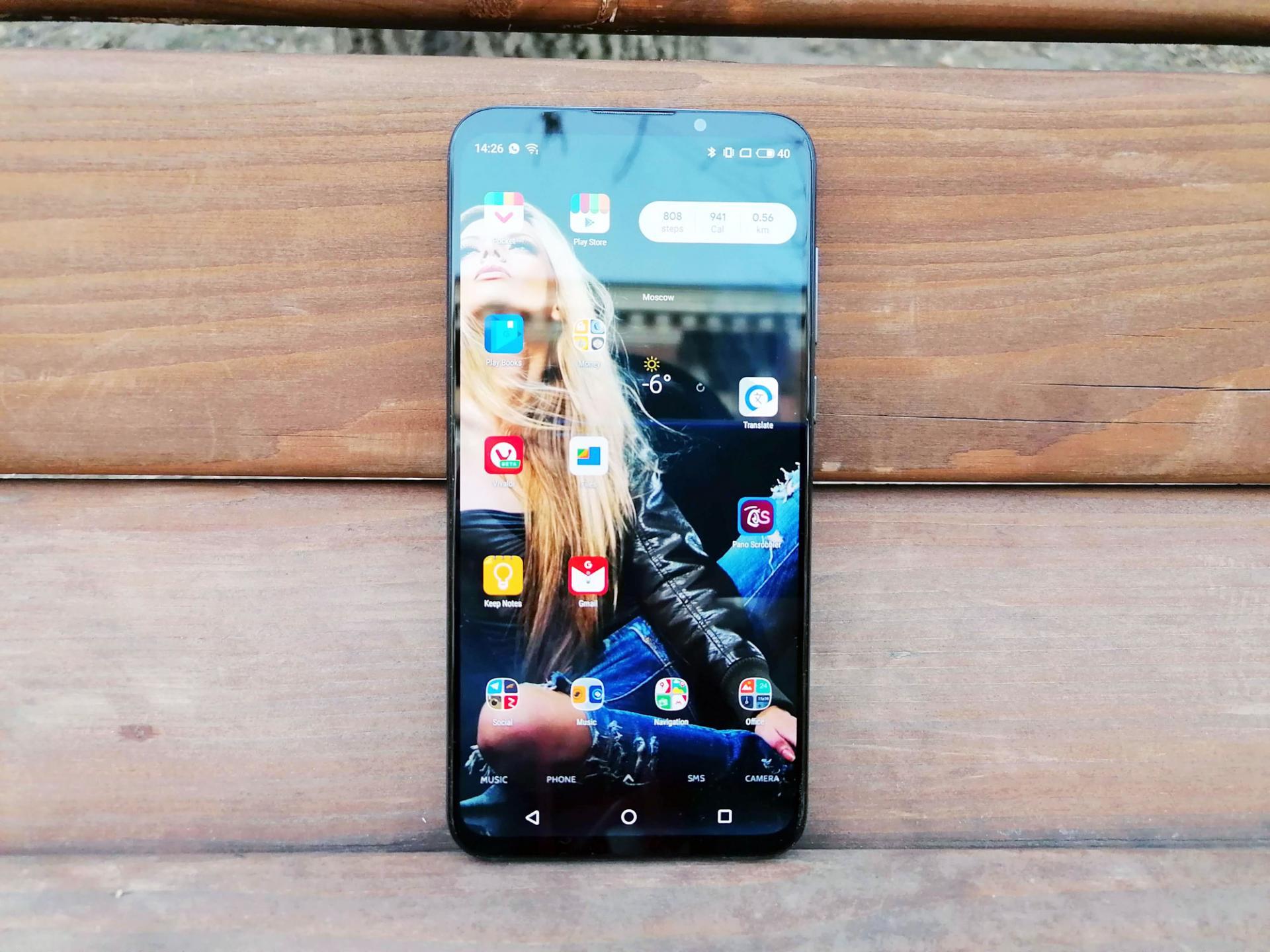Обзор смартфона Meizu 16xs