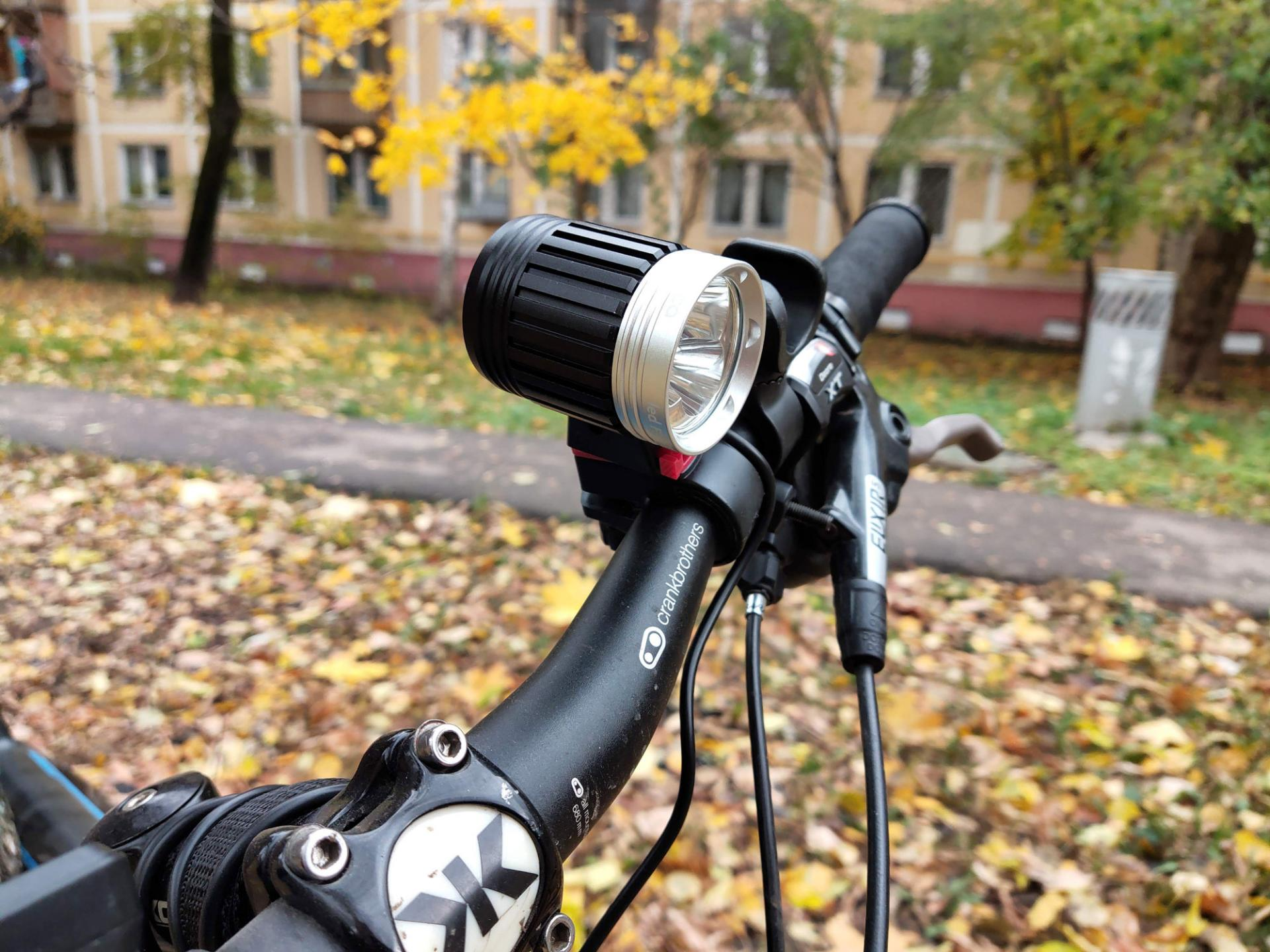 Обзор велофонаря Rombica LED F3