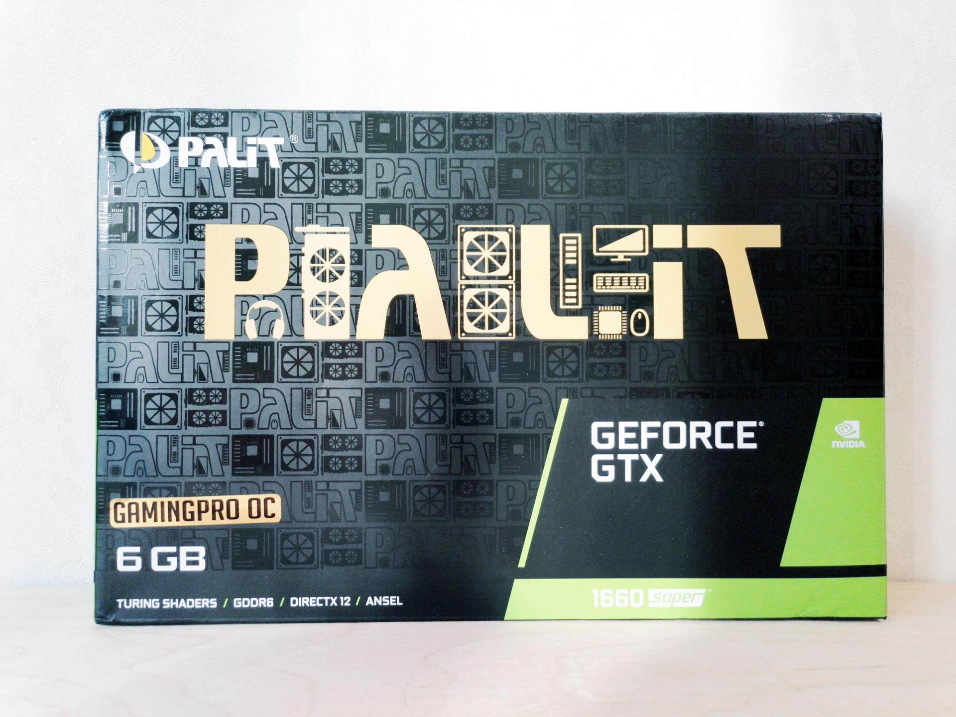 Обзор видеокарты PALIT GeForce GTX 1660 SUPER GP