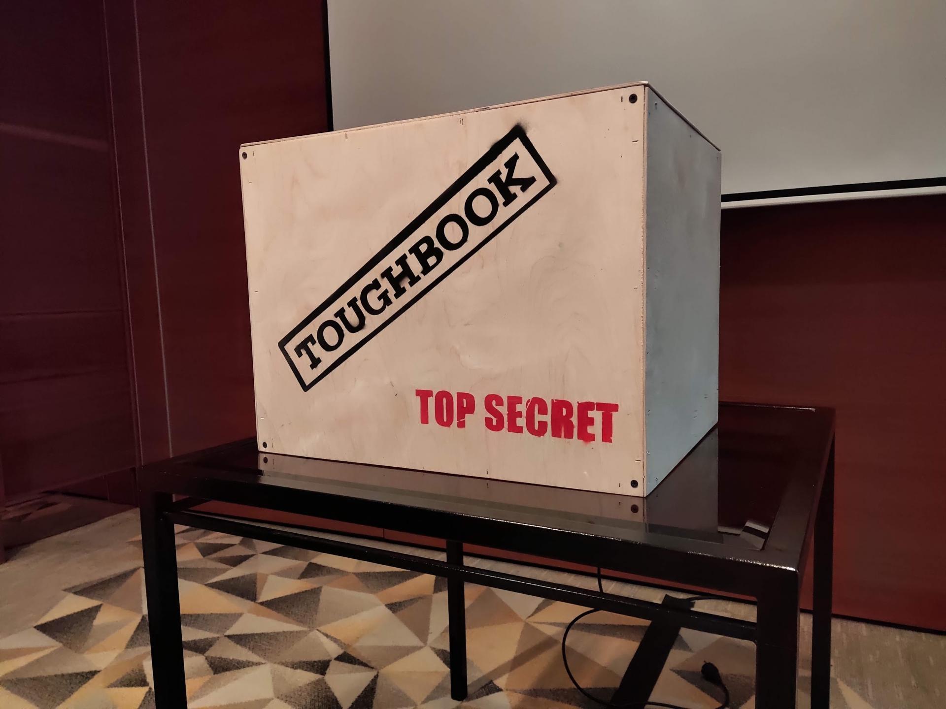 Panaonic показала защищённый ноутбук Toughbook 55