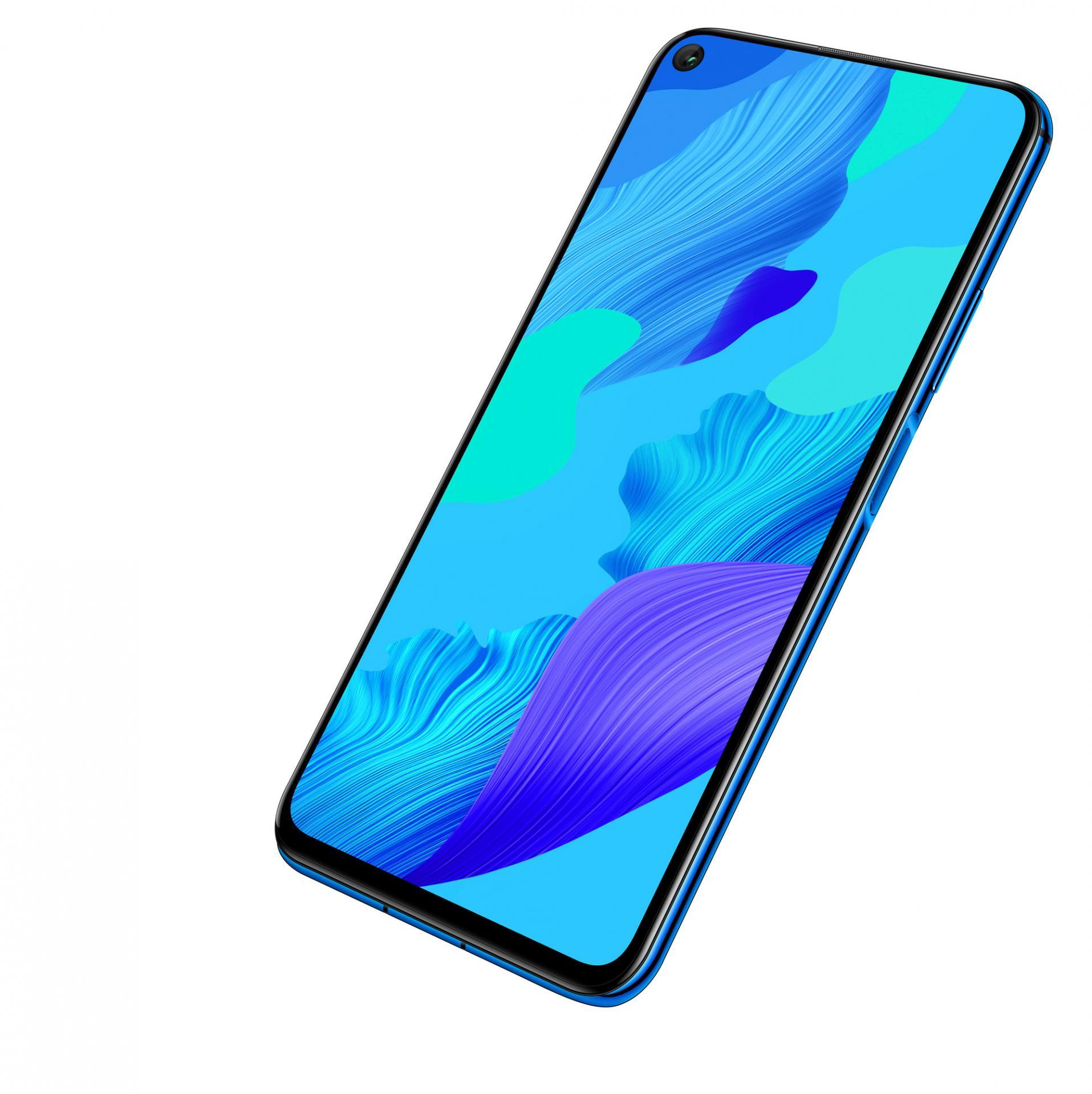 Смартфон с4 объективами основной камеры Huawei Nova 5T. Почти впродаже