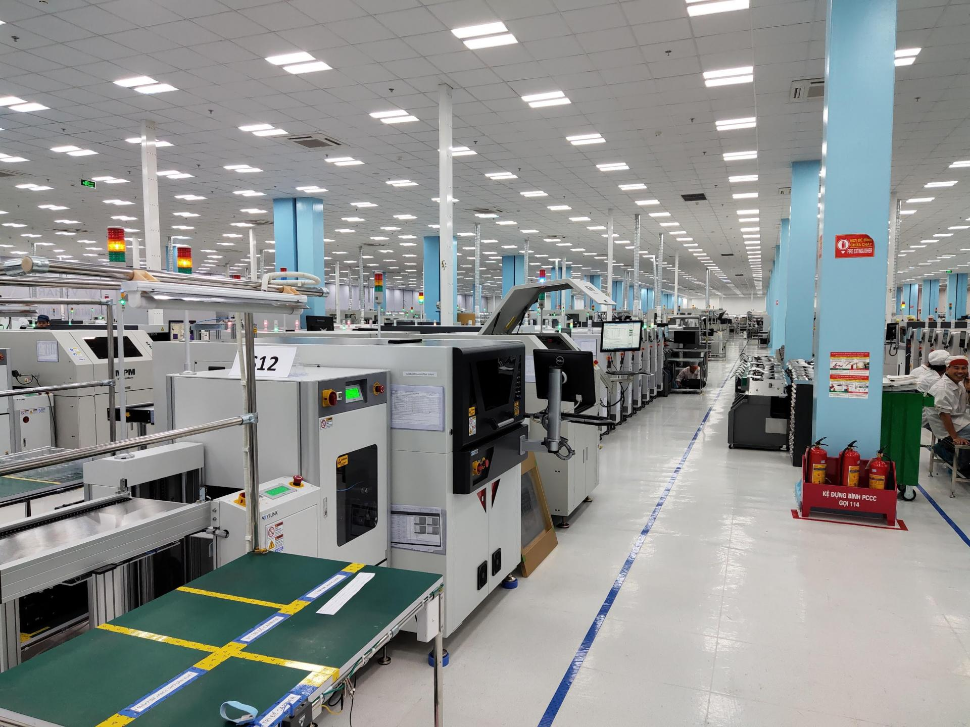Вьетнамская компания VinGroup построила собственный завод для производства смартфонов