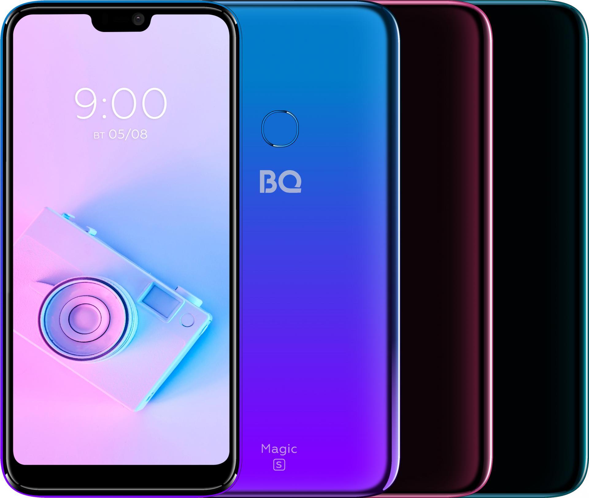 BQрешила запустить впродажу камерофон BQ5731L Magic S