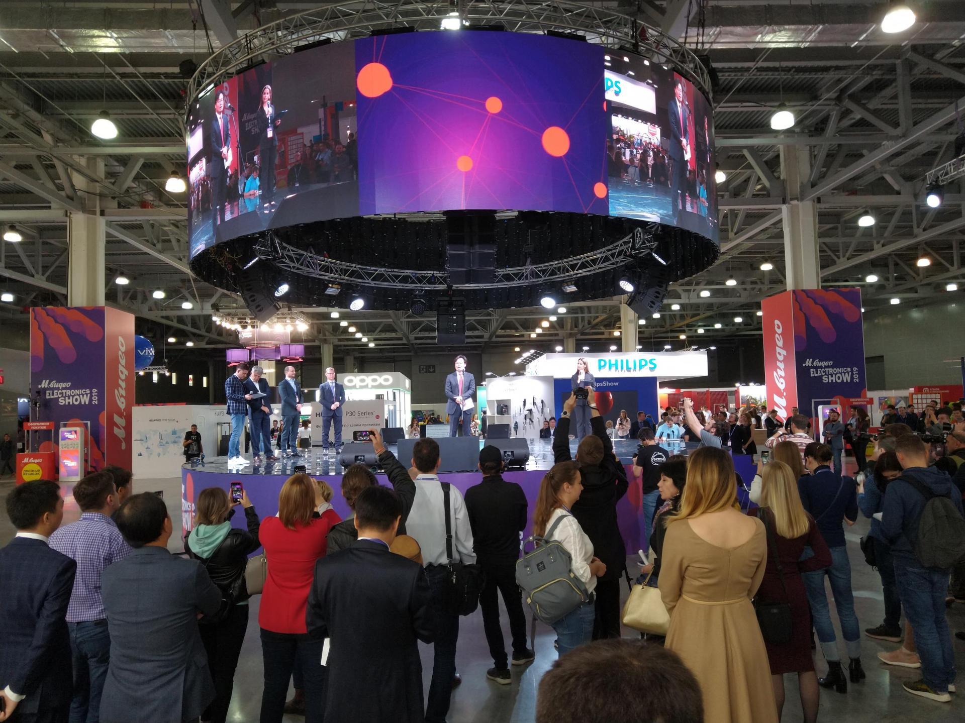 Electronics Show 2019 М.Видео был выбран для анонса грядущих новинок отпроизводителей