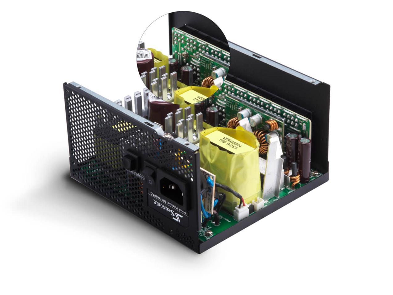 Обзор блока питания Seasonic Electronics FOCUS Plus Gold 650W