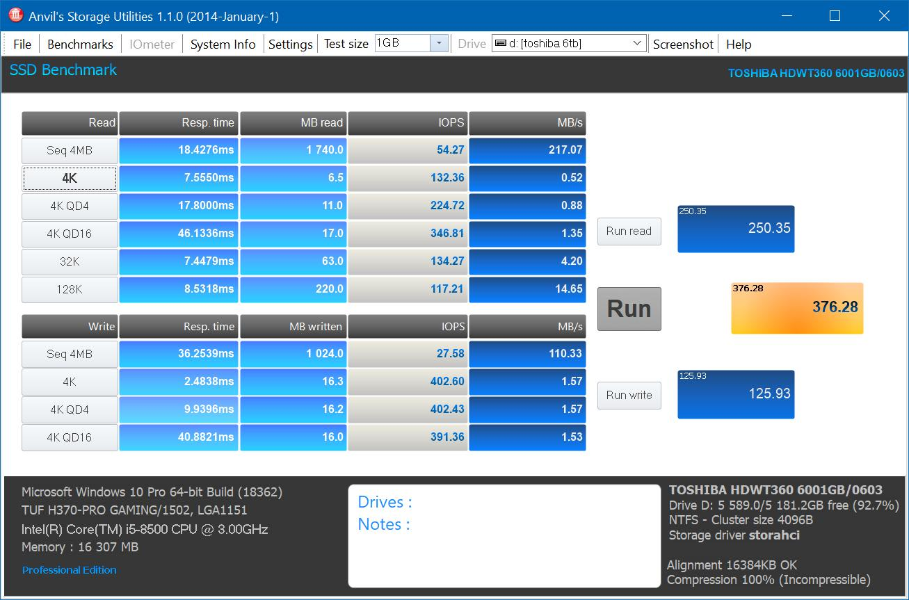 Обзор видеодиска Toshiba HDWT360UZSVA (Surveillanse S300)
