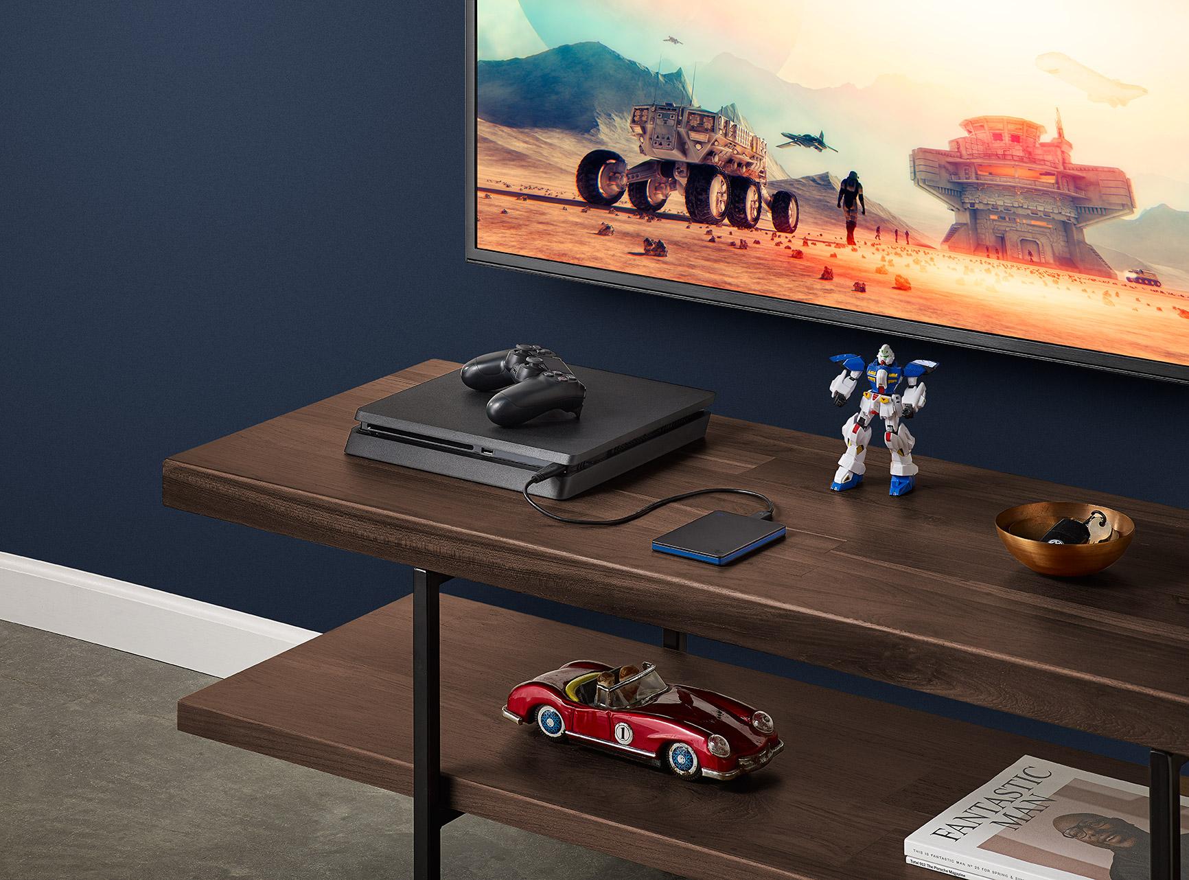 ВЕвропе уже стартовали продажи портативного лицензированного накопителя для PS4