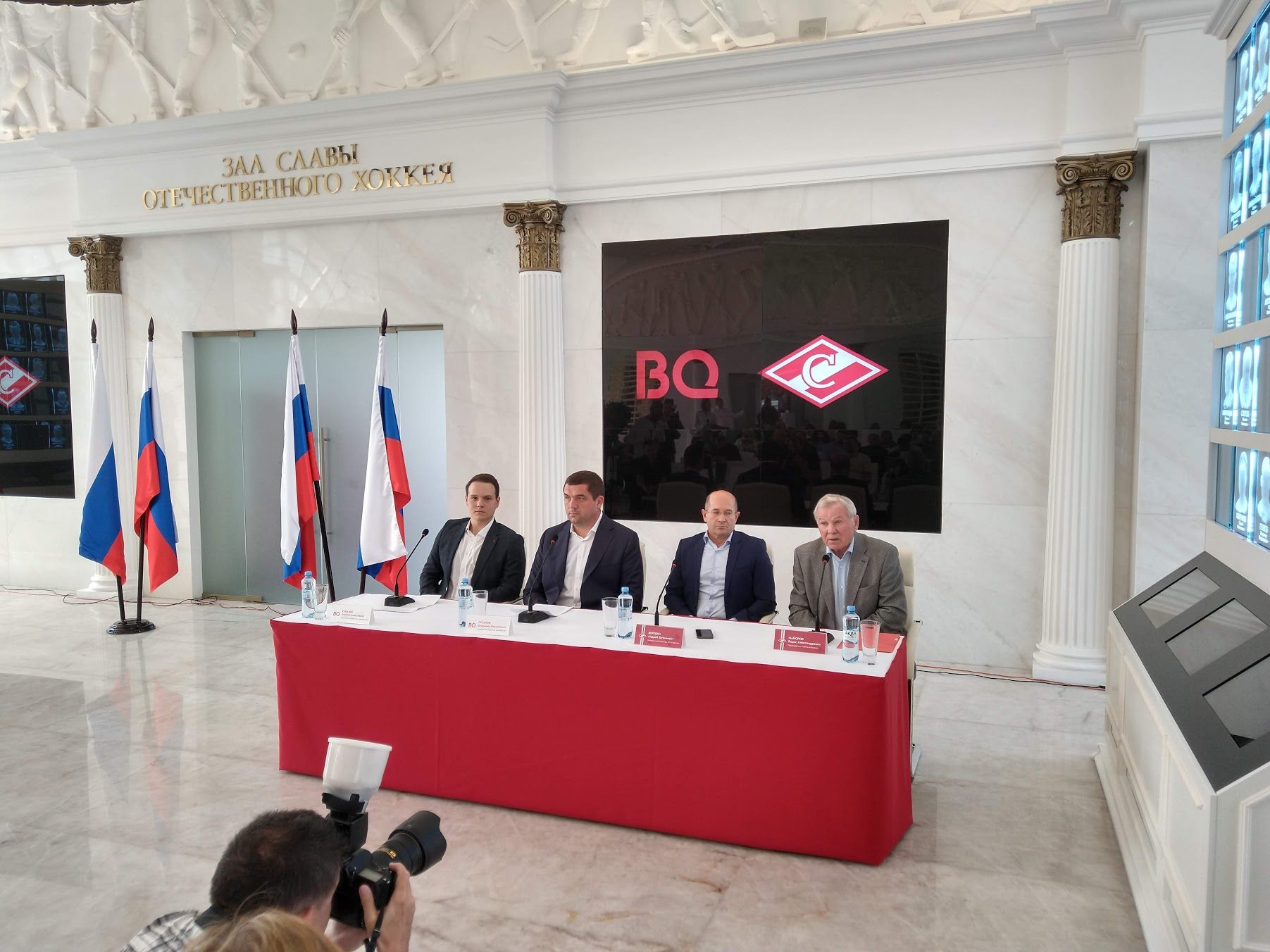 BQиХКСпартак объявили опартнёрстве