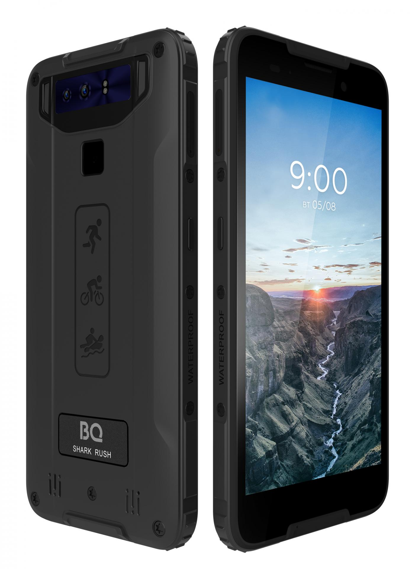BQпредлагает защищённый поармейским стандартам смартфон 5541L Shark Rush