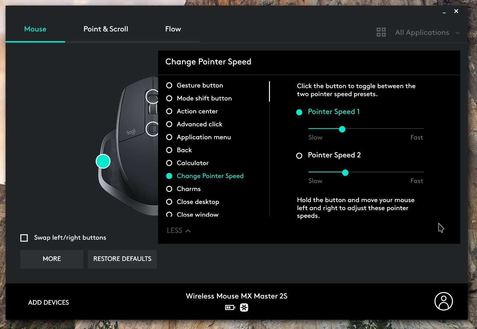 Обзор мыши Logitech MXMaster 2S Black Bluetooth – огромное внимание кмелочам