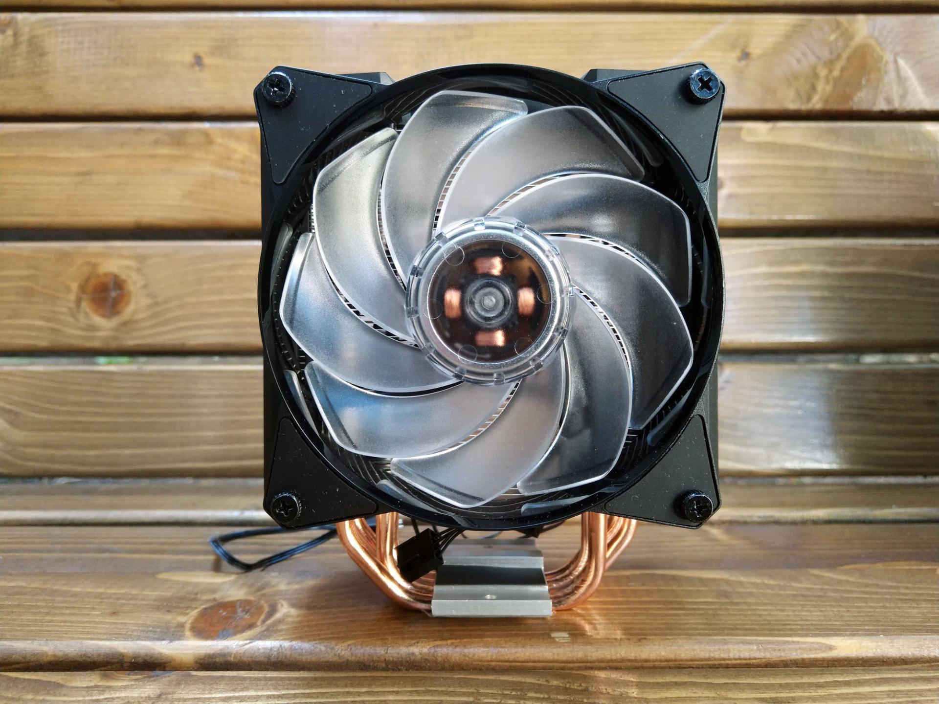 Обзор системы охлаждения процессора Cooler Master MasterAir Ma410M на примере Intel Core i5-8500