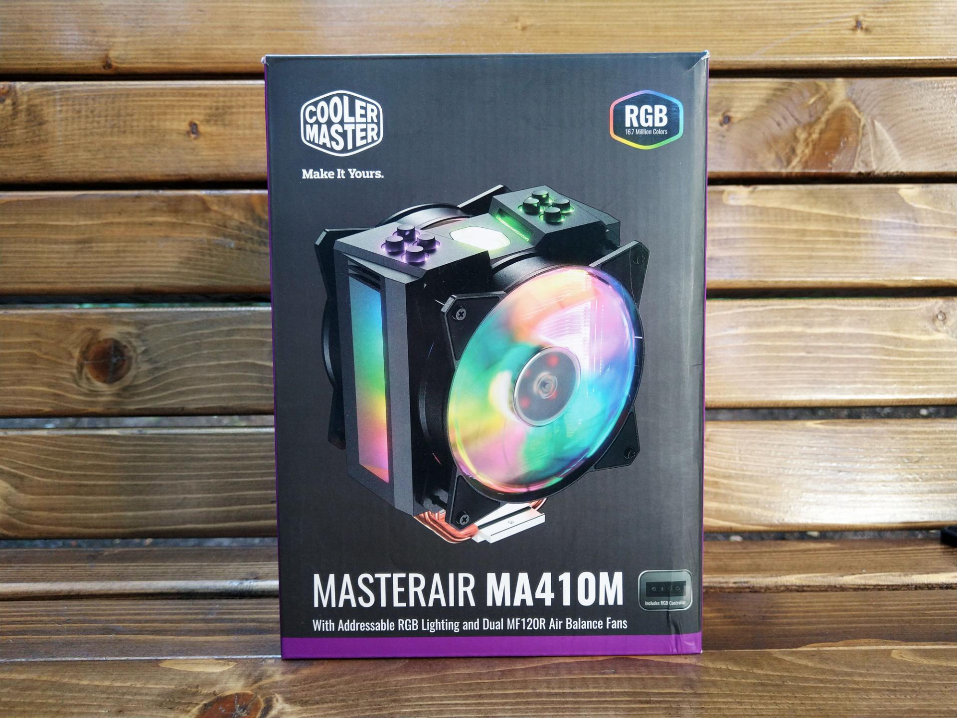 Обзор системы охлаждения процессора Cooler Master MasterAir Ma410M