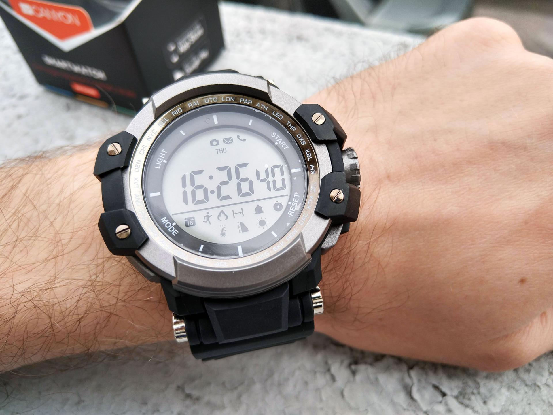 Обзор умных часов Canyon CNS-SW51