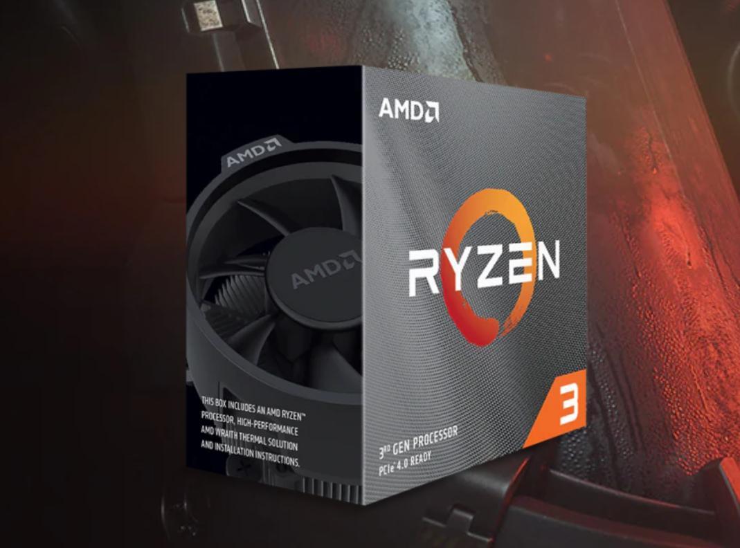 AMD предлагает Ryzen 3 3100 иRyzen 3 3300X от99$ уже вмае